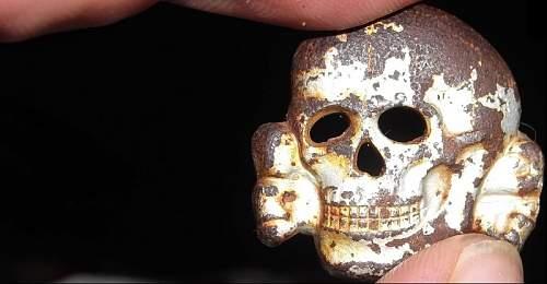 SS Skull fake?