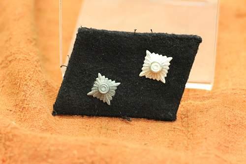 Waffen SS NCO collar tab