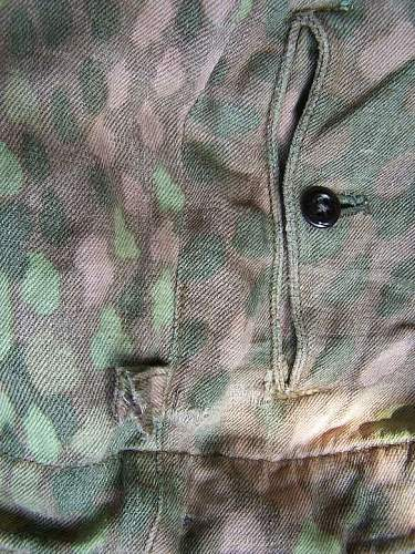 Erbsenmuster 44 camo trousers