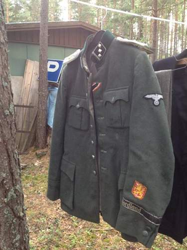 Finnish SS volunteer tunic and much Finnish and Soviet gear found!