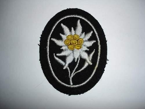 Waffen-SS Patch?