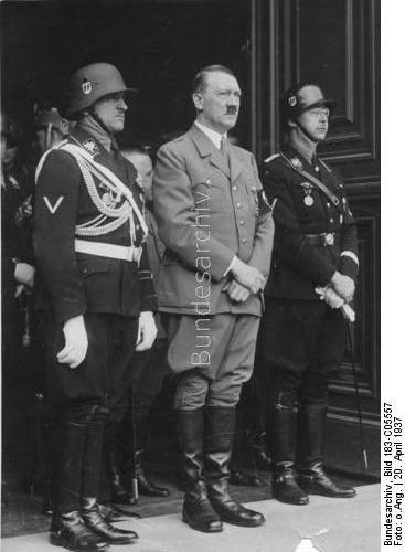 German newspaper Die Welt scoop of Heinrich Himmler material
