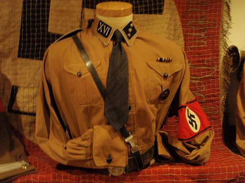 Early brown SS shirt