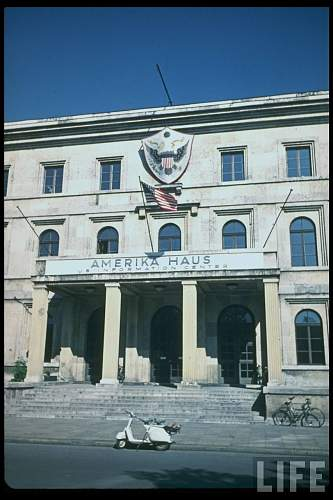 Click image for larger version.  Name:Amerika Haus, (formerly Fuhrerbau). Perhaps in the late 1950's4.jpg Views:100 Size:116.6 KB ID:640539