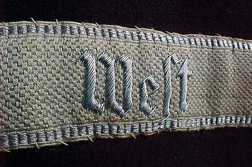 SS collar patches and more.