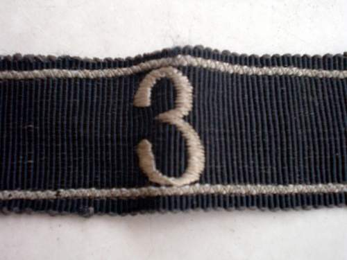 Cuff titles and arm eagle
