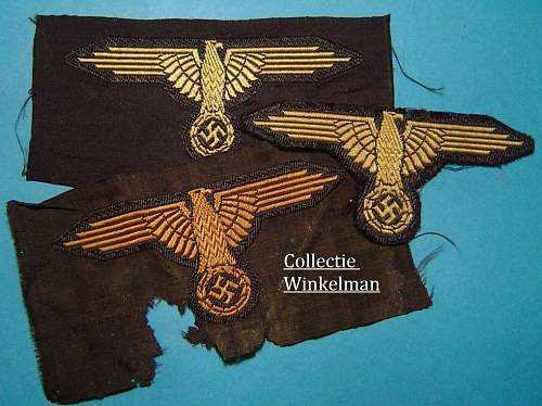 Waffen SS Tropical BeVo sleeve egale