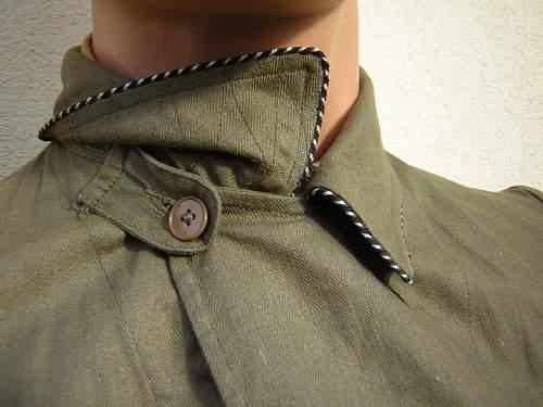 Earth-brown SS-VT uniform