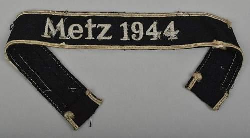 Metz 1944 SS assault wrap tunic
