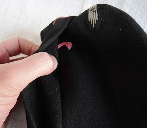 SS Black cap Autopsy