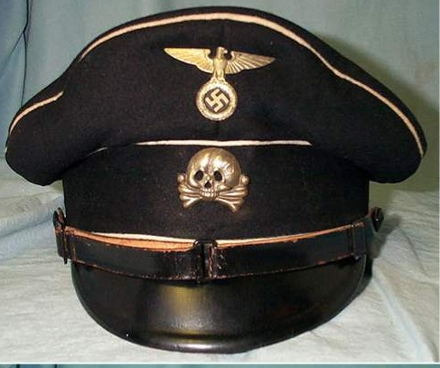 SS and Army caps