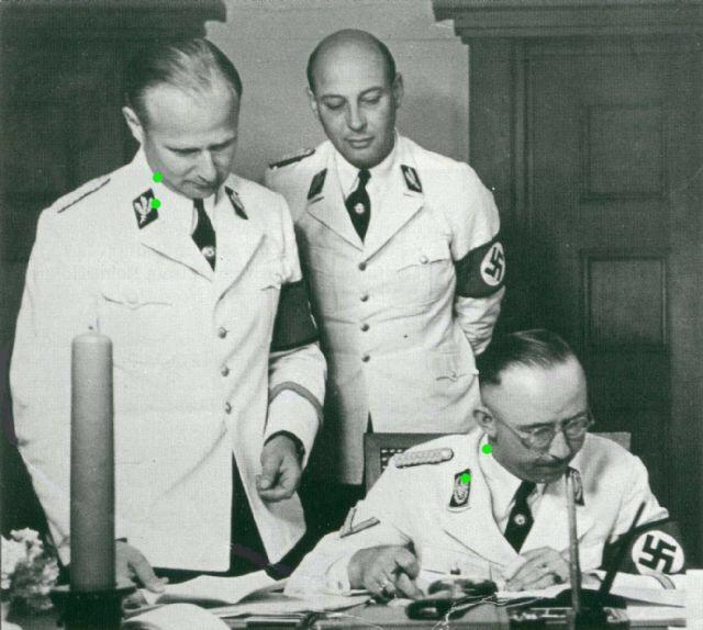 White Uniforms In Wear: Part 2 Himmler