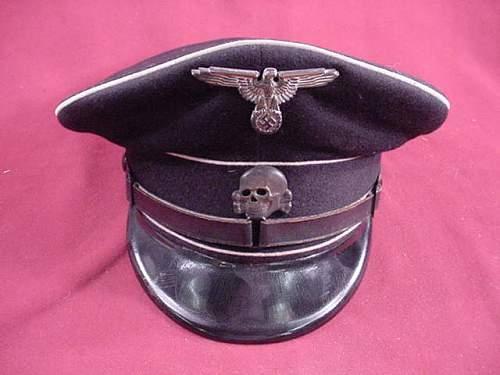 A WSS colored cap in California...