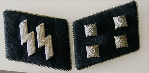 SS Collar Tabs, opinions