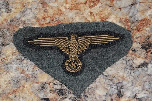 Found this insignia in a lot.