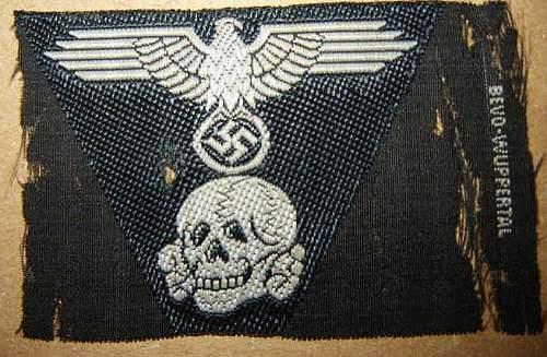BeVo panzerinsignia