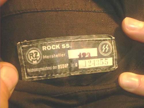 The Dr. Breuer RZM tag, ca. 196X