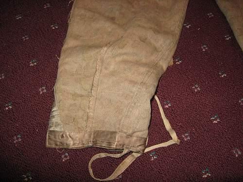1944  Waffen SS camo uniform comments Please