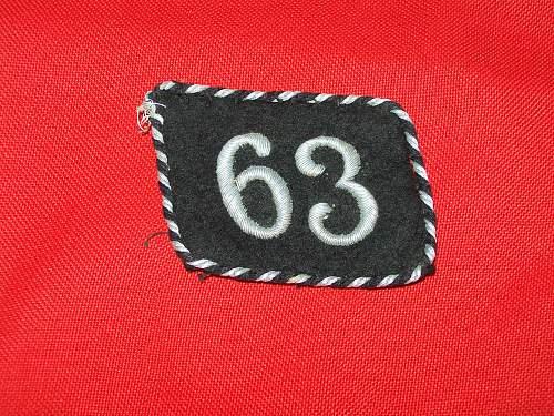 allgemeine SS tab 63
