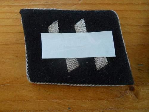 ss collar tab fake or fake ?