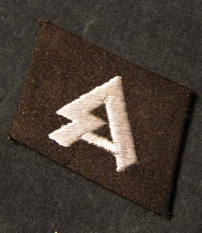 Horst Wessel collar tab - orig. or fake?