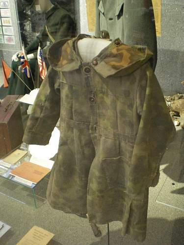 Post-war recycling of camouflage cloth
