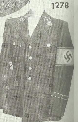 Is this man wearing an ss uniform?