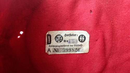 Questionable RZM tag on this SS armband