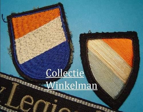 Waffen-SS Dutch Volunteer Sleeve Shield