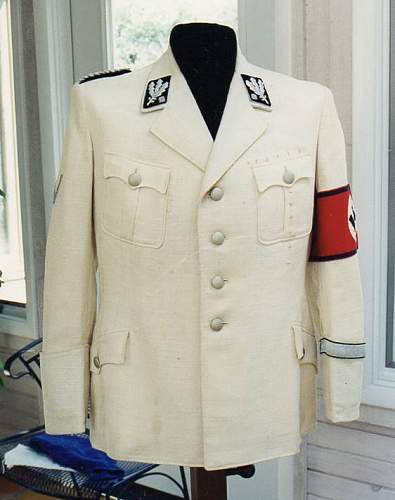 Allgemeine-SS shoulderboard for the rank group SS-Brigadefuhrer through Reichsfuhrer-SS
