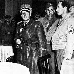 Waffen SS surrenders in Italy