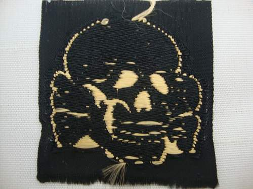 SS BEVO totenkopf skull tropical fake or real?