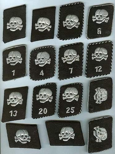 Totenkopf Collar Tab (vertical) - good or bad?