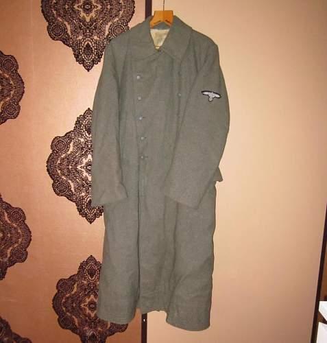 SS coat question