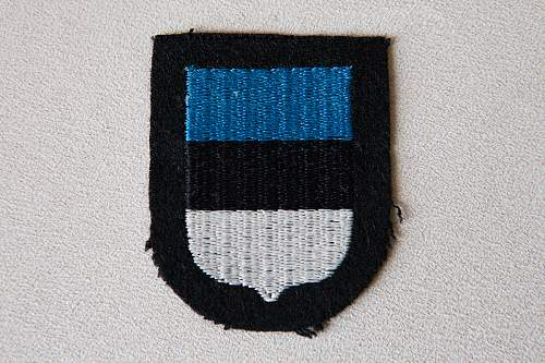 Show your SS Volunteer sleeve shields