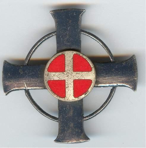 Rare Norway Police anti partisan medal.....real or fake ??
