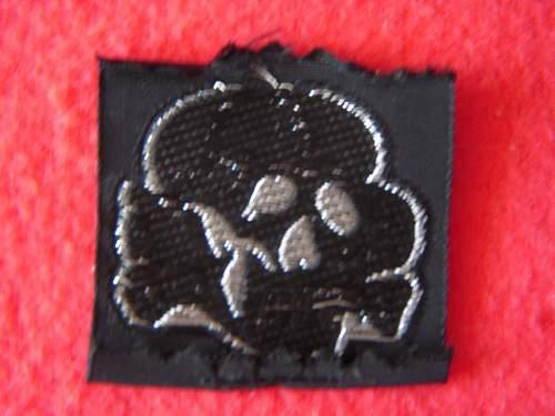 totenkopf cap insignia