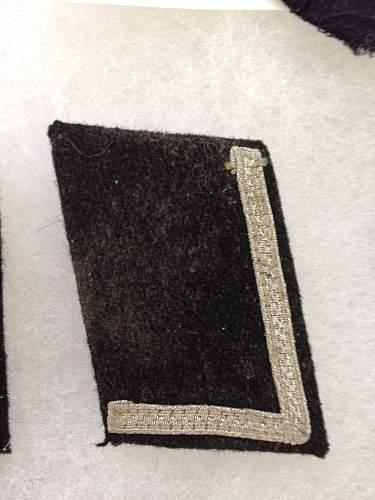 WW2 collar tabs?