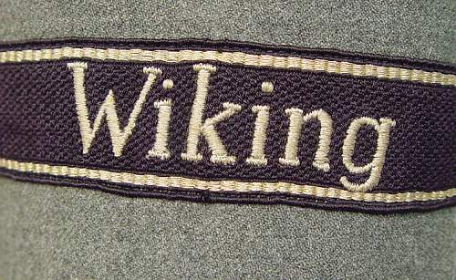 Waf. SS Division Wiking NCO Uniform