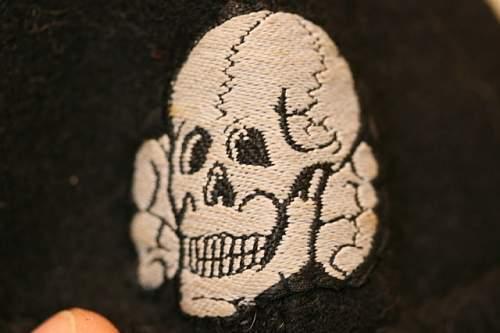 Waffen SS headwear courtesy of my friend, Paul S.