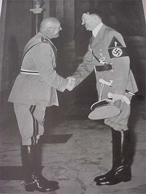 Insignia on Hitler's Coat