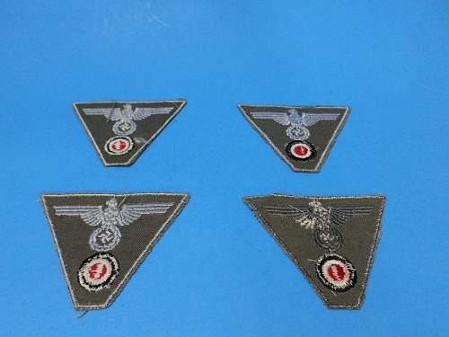SS Militaria Badges (M43)