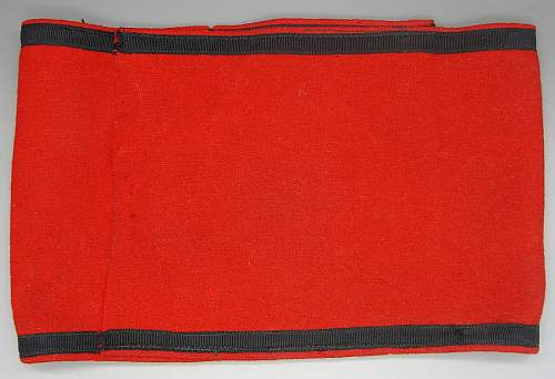 Wool SS Armband with SS RZM Tag   with  A difference