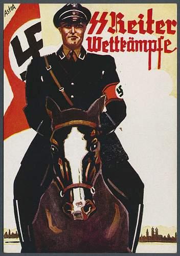 early Allgemeine cavalry tab
