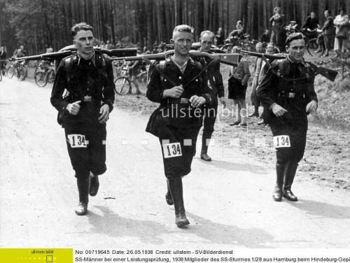 schwarze SS Schirmmuetze, ca. 1934, ex Pepera collection.