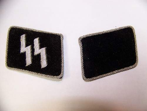 SS collar tabs for review
