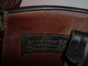SS leather gaiters