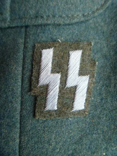 leutnant police ss tunic