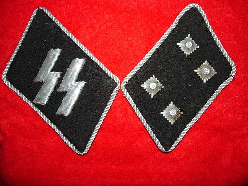 SS officers tabs