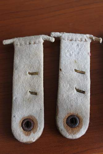 SS shoulder boards 2 pairs, Please help to ID